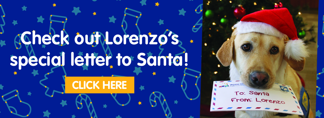 Check out Lorenzo's letter to Santa!