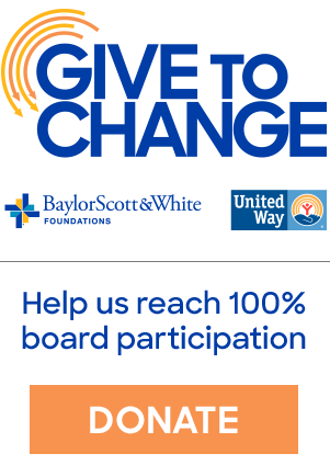 Donate to help us reach 100% board giving